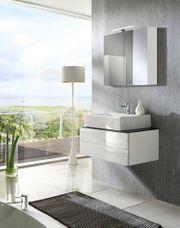 Waschbeckenunterschrank bzw Waschtisch Hängend mit
