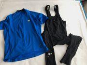 Laufhose lang und Shirt für