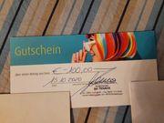 100 -EUR Gutschein