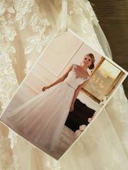 nagelneues Hochzeitskleid Größe 36 komplett