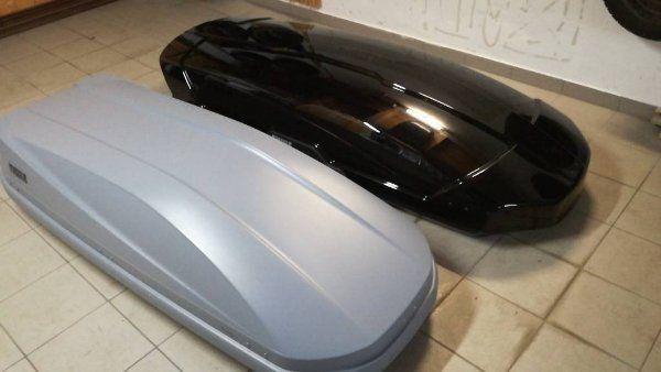 Dachbox Jetbag Fahrradträger zu vermieten