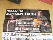 Konzert Plakat Banner von Gunter