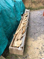 Brennholz Holz Parkett Reste