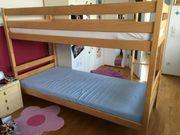 Stockbett in 2 Einzelbetten zerlegbar