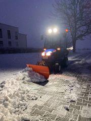 Winterdienst Schneeräumen Schneeschippen
