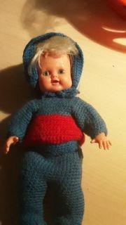 Alte puppe von rubber doll