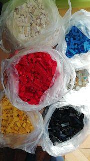 Lego Steine Basis rot weiß