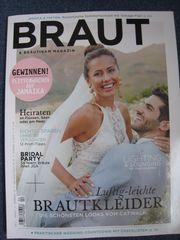 NEU ungelesen BRAUT BRÄUTIGAM Magazin