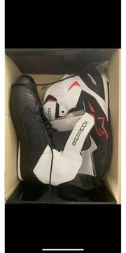 Alpinestars Faster-3 Shoes Black White