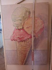 Bild mit Eis Motiv