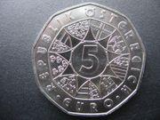 Ö 5-Euro in Silber