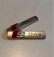S Line Emblem Links Rechts