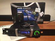 Gitarrenfunk AKG SR4000 und PT4000
