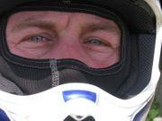 Motorradfahrerin Fahrer für Feierabendrunde Wochenende