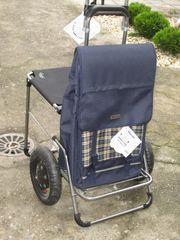 Einkaufstrolley mit Sitz