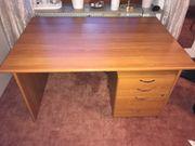 Schreibtisch mit Container Schubladen Homeoffice