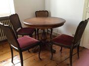 Runder Tisch Antiker Stil Ausziehbar