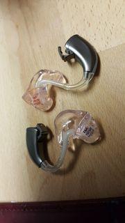 Gebrauchte Hörgeräte - fast neu -