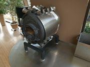 Bullerjan 02 mit Untergestell Wärmebleche