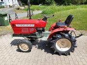 Yanmar YM1401D Tractor mit Zubehör