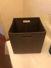 Aufbewahrungsbox aus Stoff waschbarer faltbarer