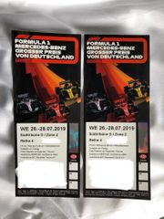 2 x Formel 1-Tickets GP