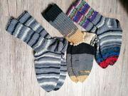 Socken handgestrickt 38 Wintersocken Stricksocken