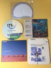 Werbe Mousepad Mauspad von Siemens