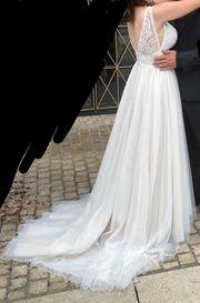 Hochzeitskleid brautkleid a Linie 38