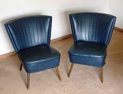 2 aussergewöhnliche Stühle 70-er Jahre