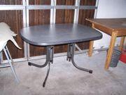 Großer Gartentisch grau von ALDI