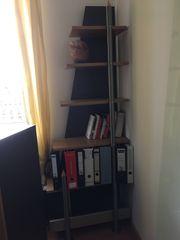 Büromöbel-Set bestehend aus Glasvitrine Regal