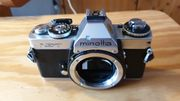 Kamera Minolta XD7 mit Tasche