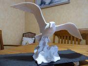 Kaiser Porzellan Figur biskuit Lachmöwe