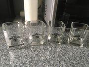 Jack Daniels Whisky Gläser 4