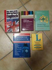 5 Englisch- Wörterbücher