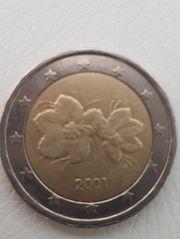 2 Euro Münze Finnland 2001