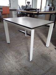 Beistelltisch von Steelcase in weiß