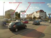Fasadenwerbung Magdeburg am Uni Campus