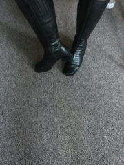 Damenstiefel aus Leder inkl Versand