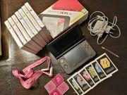 Nintendo 3DS Console rot und