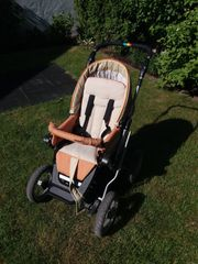 Kinderwagen Teutonia Mistral 06 rot-orange