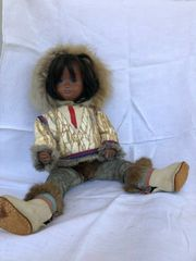 Sasha Morgenthaler Eskimo Puppe alt