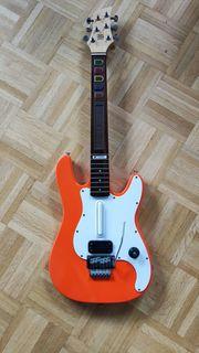Seltene Original Logitech Echtholz Guitar