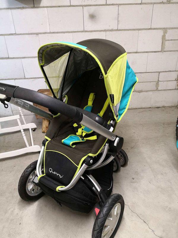 Kinderwagen Quinny Buzz mit Sportbuggyaufsatz