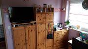 Kinderzimmermöbel - Massivholz - mit Hochbett - für