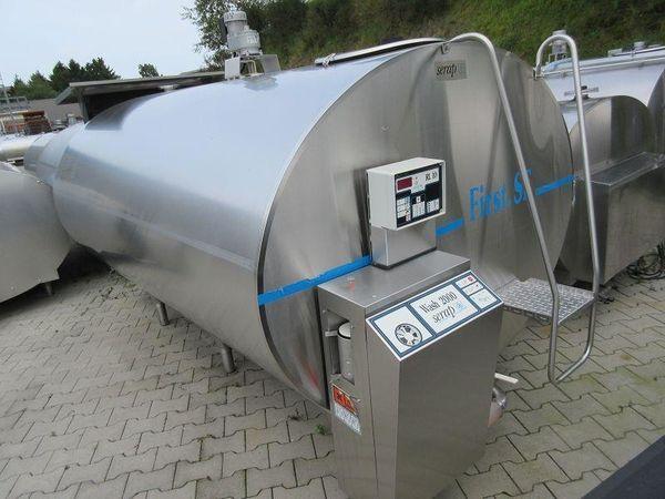Milchkühltank Milchtank Milchwanne - 4000 Liter -