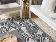 Outdoor Teppich schwarz 120 x
