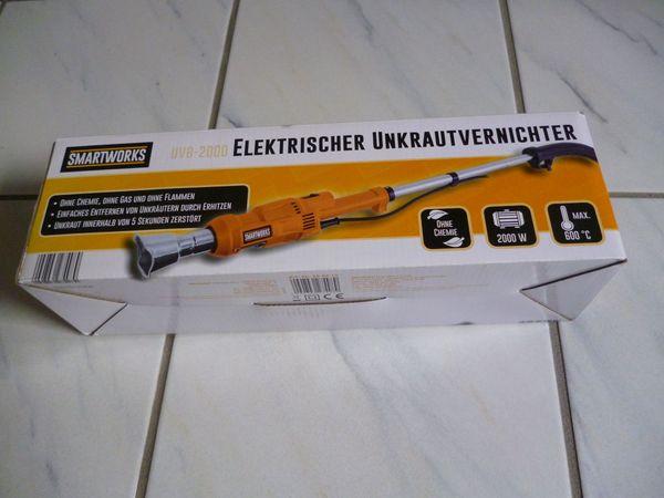 Elekrtischer Unkrautvernichter Smartworks 2000 Watt