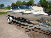 sportboot 50Ps mit Trailer Johnson